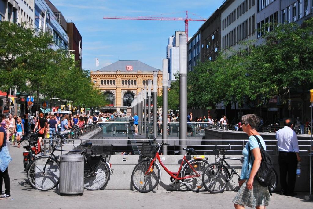Stadt Fahrräder bzw. Citybikes