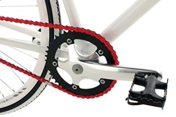 KS Cycling Fahrrad Fitness-Bike Single Speed Essence RH 59 cm, Weiß, 28, 392B -